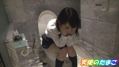 【JK個人撮影】礼儀正しい超かわいいバスケJK!超恥ずかしがってたまらない~我慢限界おしっこ映像