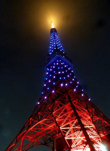 東京タワー(紫)