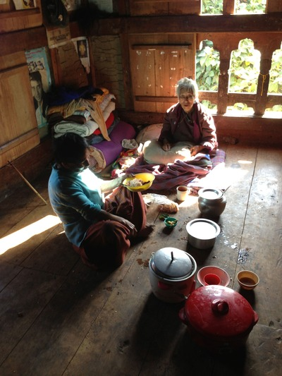 ブータンの農村