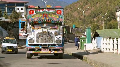 ブータンのトラック