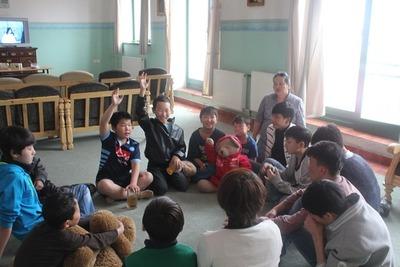 モンゴル孤児院