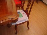 ビニール椅子