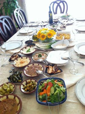 パレスチナアラブ料理