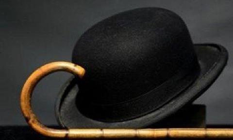 1チャップリンの帽子とステッキ101