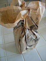 手作り天然酵母で作ったパンが入っています