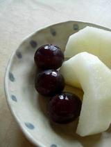 梨とぶどう