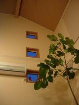 丁度、19:00の窓