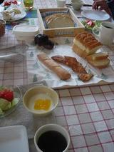 今日の朝食風景