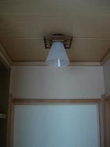 和室の照明2