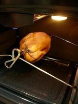 回って回ってオーブンで焼いて