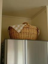 冷蔵庫のカゴ