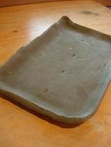 以前たたらで作成した角皿