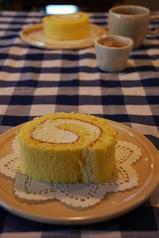 これまたおいしいロールケーキ
