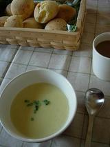さつまいものスープ