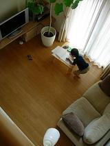 絵日記を書いているところ