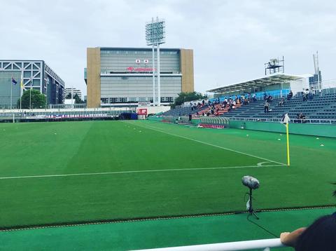 サッカー観戦②