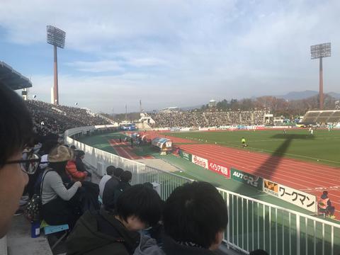サッカー観戦①