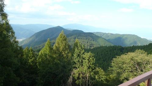 比叡山頂風景
