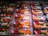百貨店の食品売場で売られている寿司もレベルが高い