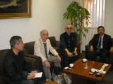 在ドバイ日本国総領事館の主席領事に面会