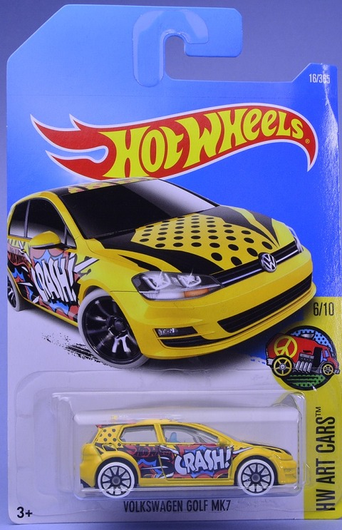 VolkswagenGOLFMK7(ARTCARS) (1)