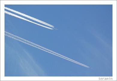 青い空と白い雲と1
