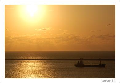 山陰夕日1