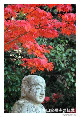 井山宝福寺の紅葉4