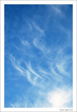 青い空と白い雲と3