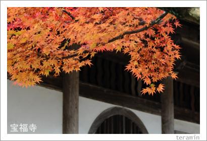 宝福寺の紅葉 写真4