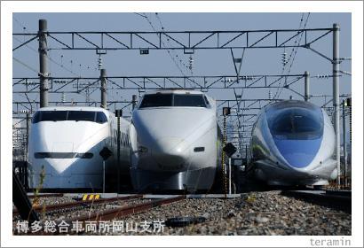 博多総合車両岡山支所 新幹線写真3