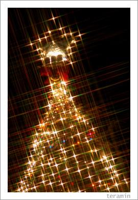 クラレのクリスマスツリー3