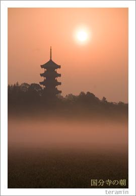 備中国分寺の朝3
