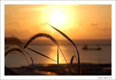 山陰夕日2