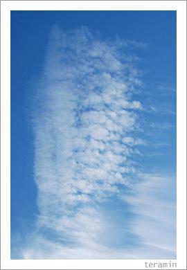 青い空と白い雲と4
