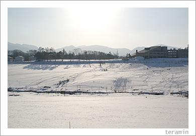 蒜山雪景色1