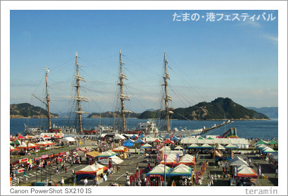 たまの・港フェスティバル 写真1