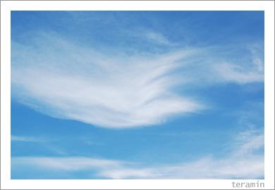 青い空と白い雲と2