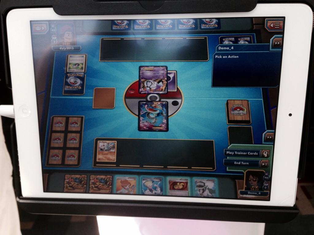 ポケモンカードゲームのipad版は年内リリース予定。ただし、日本は対象外。
