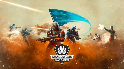 Shadowgun War Games Key Art