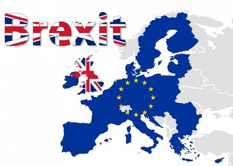 英国地図にX