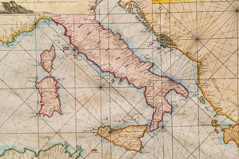 古海軍地図600