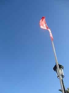 旗ランタン青空あああ