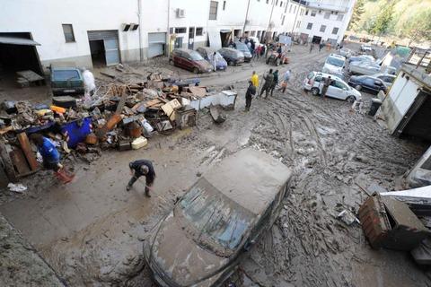 フィレンツェ洪水①