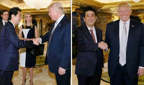 Trump-Abe-ivanca