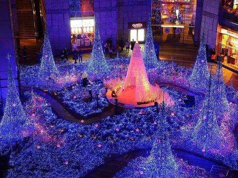 shiodome_christmas_lights汐留800