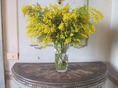 ミモザ花瓶全体300pic