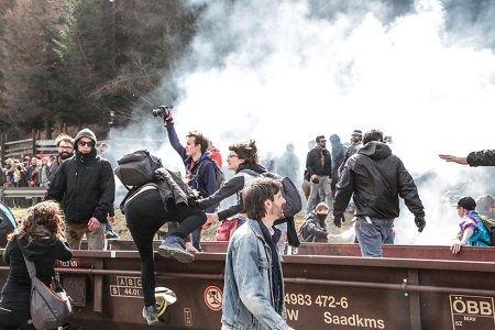 衝突ブレンネロ抗議デモ300pic