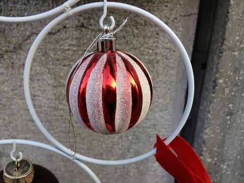 クリスマス飾りup