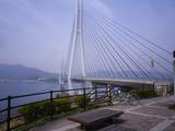 橋を渡るとこんな感じ。あらいい景色。